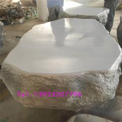 商场仿真玻璃钢石头雕塑园林景观玻璃纤维石头模型雕塑厂家定制
