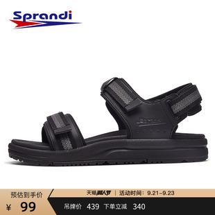 软底休闲魔术贴潮沙滩鞋 新款 2020夏季 Sprandi斯潘迪运动凉鞋 男鞋