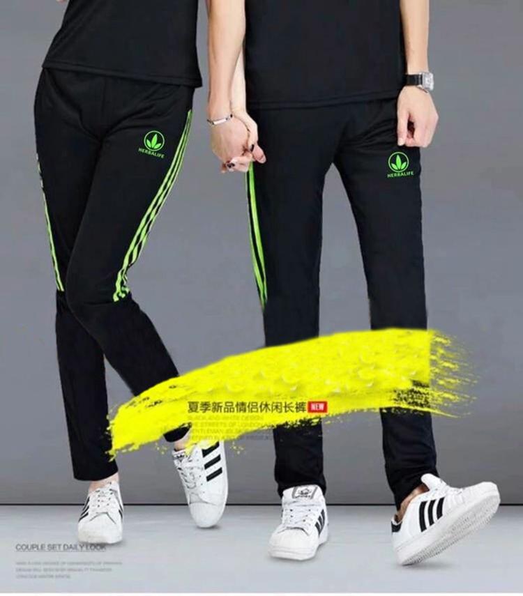 Мир сокровище сорняки одежда новый летний тонкая модель быстросохнущие движение мужской и женщины брюки