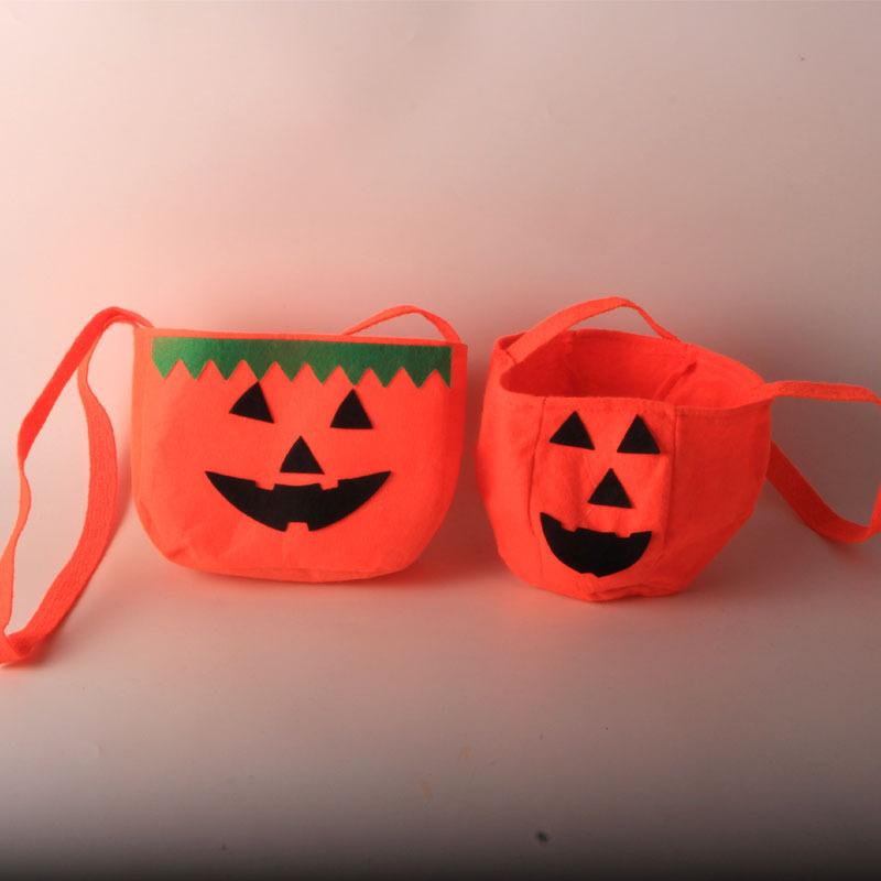 万圣节聚会装饰道具糖果袋角色扮演配件南瓜袋布袋儿童礼物
