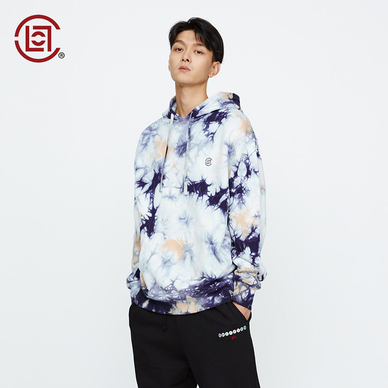 【CLOT】 扎染龍紋帽衫衛衣華人系列 彩色陳冠希主理