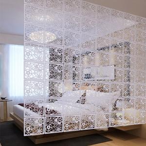 简易欧式屏风隔断时尚客厅卧室简约现代玄关雕花折叠挂帘子软折屏