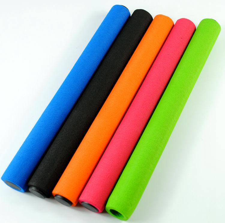 滿10個包郵 接力棒 防滑泡棉海綿套接力棒 比賽接力棒 超強吸汗