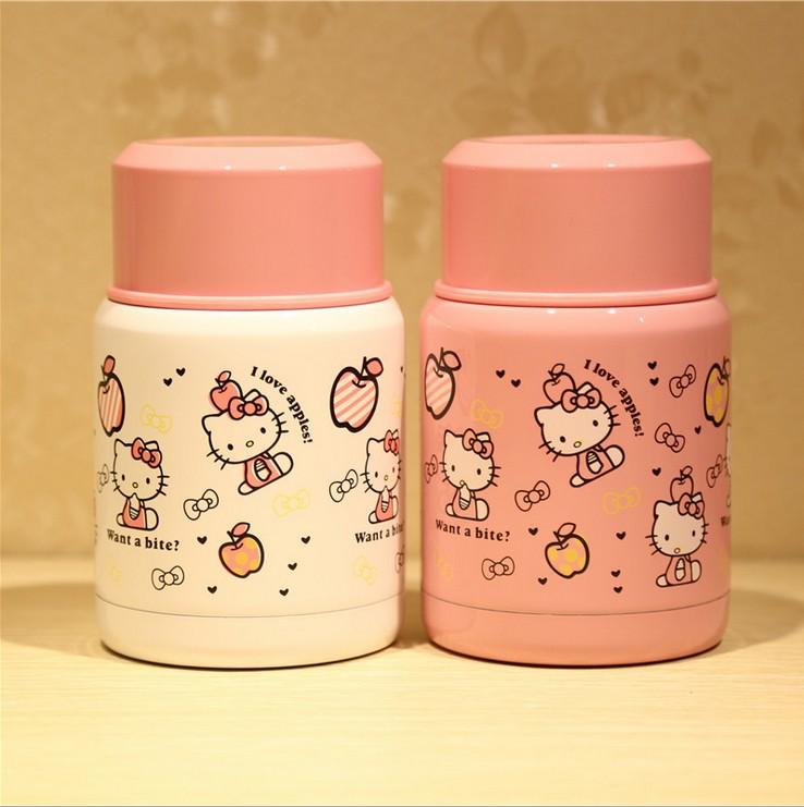可愛卡通燜燒杯 保溫杯兒童學生雙層不鏽鋼保溫飯盒 便攜早餐湯壺