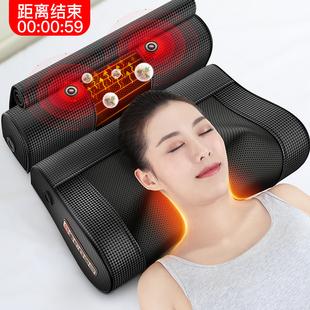 多功能肩颈椎按摩器颈部肩部腰部颈肩脖子全身电动仪家用枕头神器图片