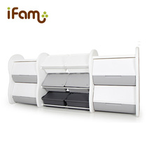 South Korea imports Ifam childrens toys storage box finishing rack plastic box large capacity storage cabinet locker shelf
