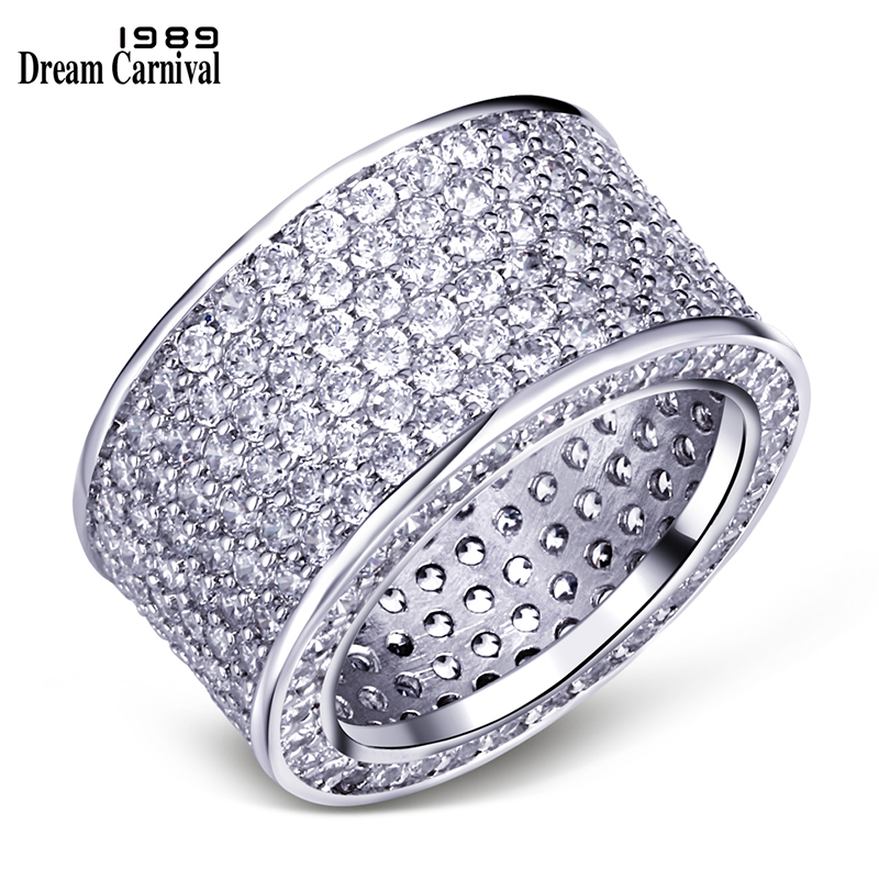 Mengnianhua 1989 2020 new rings for women in Europe and America fashion micro inlaid zircon creative design trendy rings