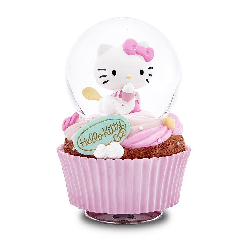 音乐盒八音盒水晶球女生儿童生日快乐情人节礼物Kitty蛋糕JARLL268.00元包邮