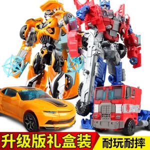 变形玩具正版大黄蜂汽车机器人金刚柱天擎手动模型飞机小男孩恐龙