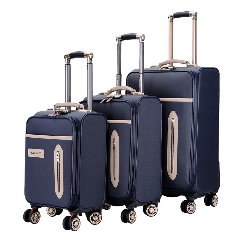 Paul crown new universal wheel student trolley case 20 inch suitcase 24 inch suitcase case