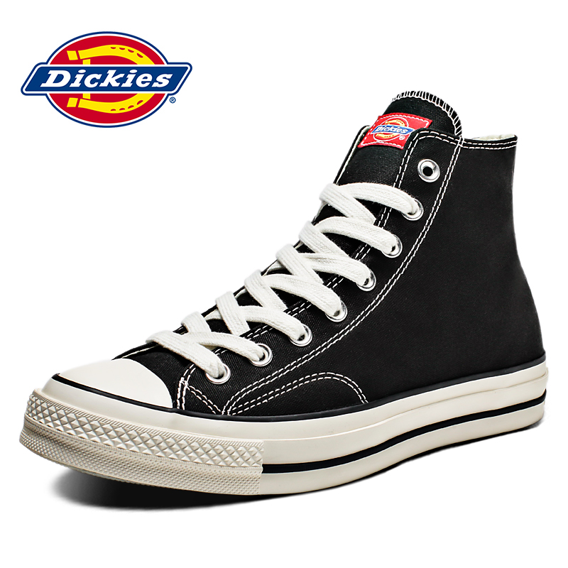 Dickies men's shoes in spring 2020 breathable canvas shoes high top Korean Trend casual shoes for lovers