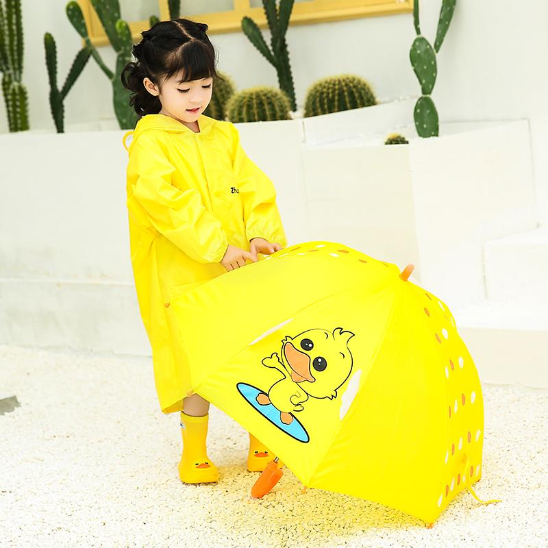 儿童雨鞋雨衣雨伞套装宝宝雨靴水鞋防滑男童女童婴幼儿小童雨具伞