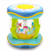 Baby Hand Pat Music child Pat Drum can charge 6-9-12 months puzzle 0-1 year old baby toy Drum 3
