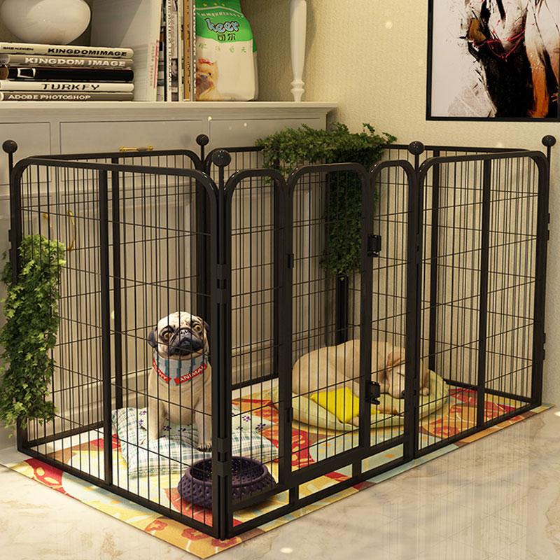 狗狗围栏栅栏狗栅栏围栏室内狗狗笼子大型犬中型犬小型犬宠物围栏图片