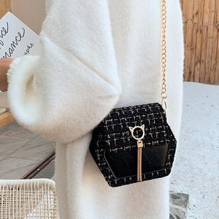 香港正品小众包包女2020新款时尚百搭高级感链条真皮斜挎单肩女包