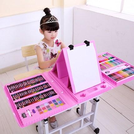 儿童画笔套装小学生工具女孩水彩笔
