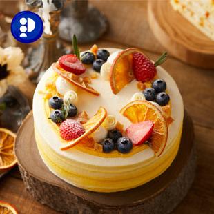 派悦坊洛可可莓莓百香柠檬蛋糕生日蛋糕聚会下午茶北京上海杭州