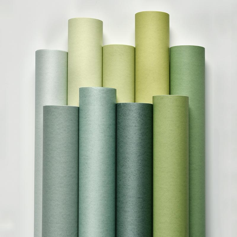 浅绿墨绿孔雀深绿蓝绿薄荷绿色墙纸复古背景纯色素色壁纸小清新满59.60元可用29.8元优惠券