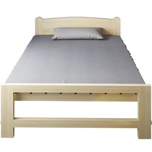 折叠床实木成人家用1.2米木板小床