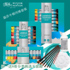 Windsor Newton painter with 24 colors acrylic set 12 colors 18 colors hand-painted wall painting textile painting paint waterproof DIY acrylic 36-color painting water-resistant paint set