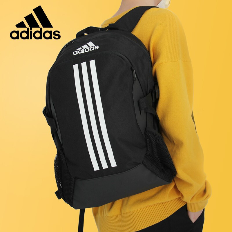 Adidas adidas backpack men and women simple sports casual mass backpack student bag travel bag