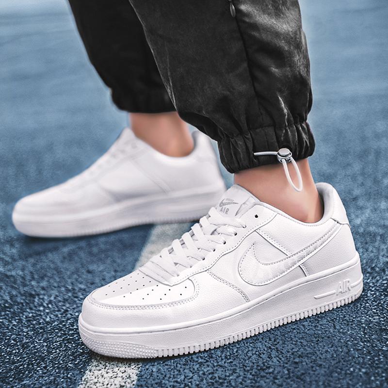 爱耐克af1男鞋官网正品空军一号板鞋aj1冰淇淋小白鞋低帮女运动鞋