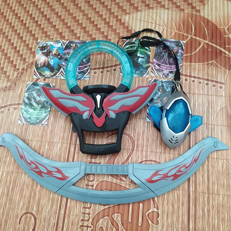 欧布奥特曼圆环变身器发声光卡片DX玩具套装 赛罗飞镖武器新品男券后19.90元