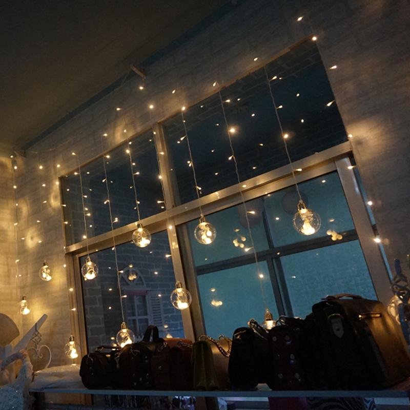 led小彩灯闪灯串灯满天星卧室宿舍网红少女心房间布置装饰星星灯
