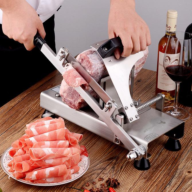 羊肉卷切片机家用手动削肉片机牛肉切肉机薄片肥牛刨肉机神器商用