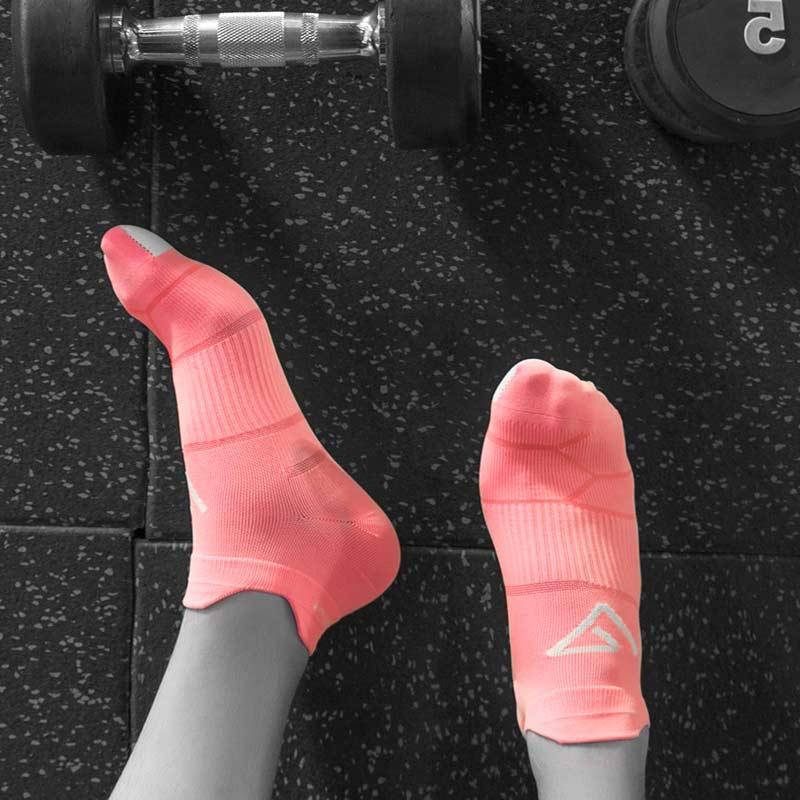 舒跑袜子专业运动袜跑步男士女士浅口薄款春夏季短袜潮袜防臭船袜