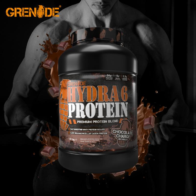 Grenade手雷Hydra 6 分离乳清蛋白增肌粉健身男女健肌蛋白质粉,可领取100元天猫优惠券