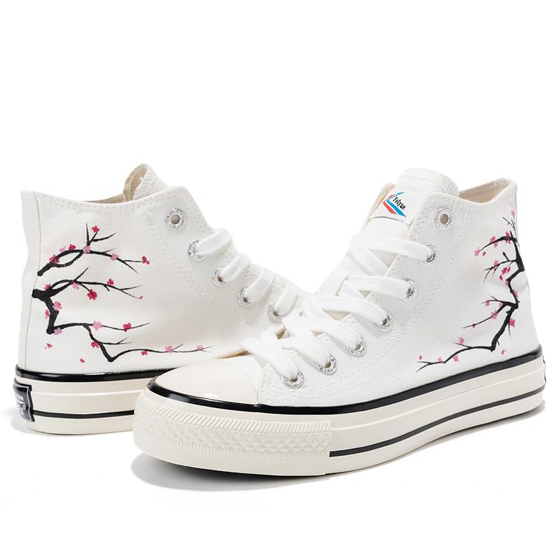 feiyue /飞跃女手绘山河款帆布鞋质量怎么样
