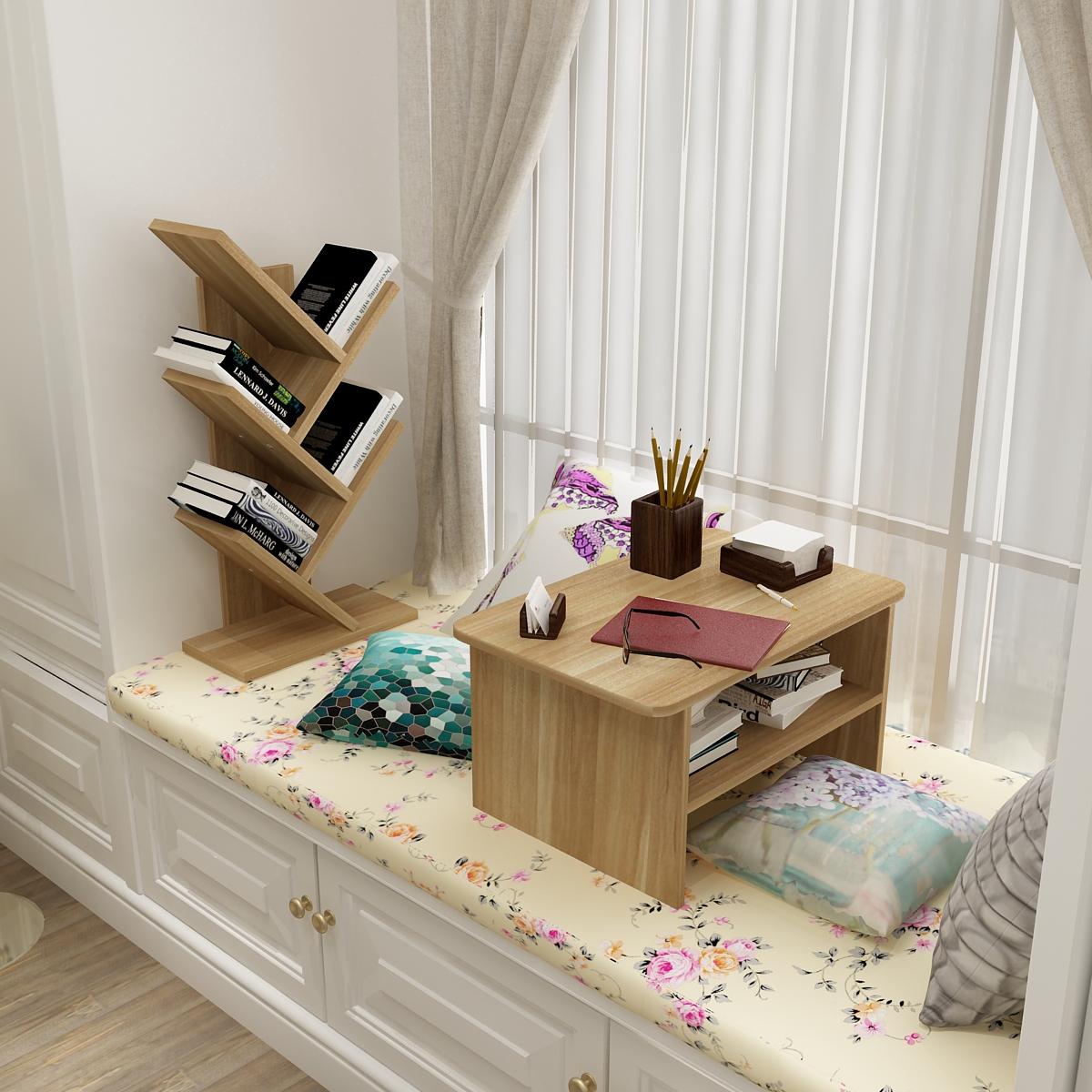 Простой современный эркер стол татами маленький квадрат стол маленький столик письменный стол короткая стол случайный компьютерный стол стол