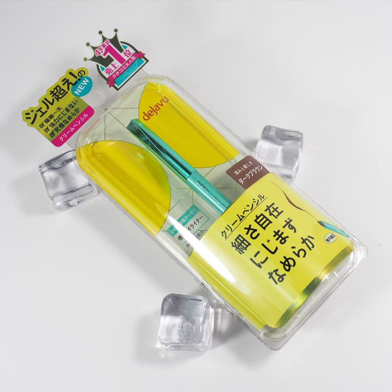 現貨 日本DEJAVU Fiberwig黛佳碧新品 持久防暈染眼線筆眼線膠筆