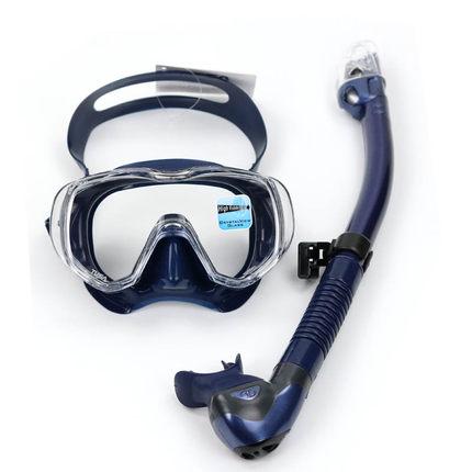 日本TUSA M3001潜水面镜SP0101全干式呼吸管专业潜水套装送防雾剂
