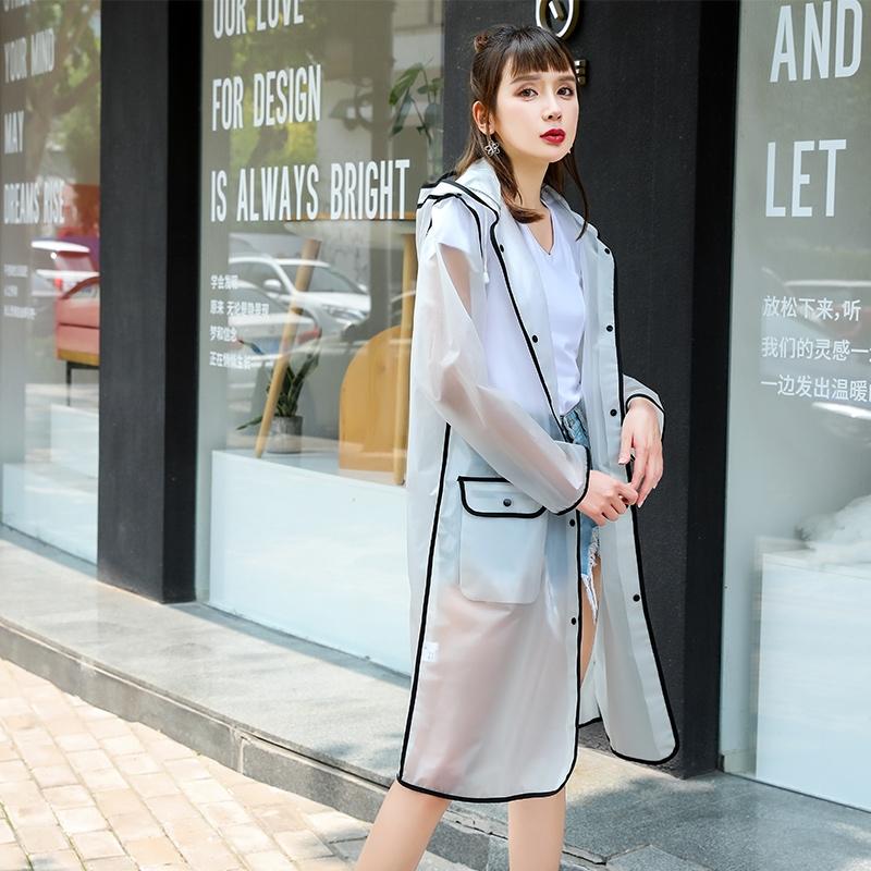 宋茜同款雨衣