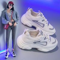 老爹鞋女2020春季新款超火网红百搭厚底跑步运动鞋女潮学生休闲鞋