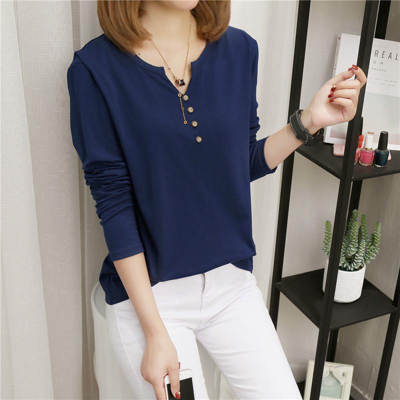 2017 жир MM осень новый размер больше и шире женщины свободный длинный рукав T футболки женщина свитер куртка 200 цзин, единица измерения веса