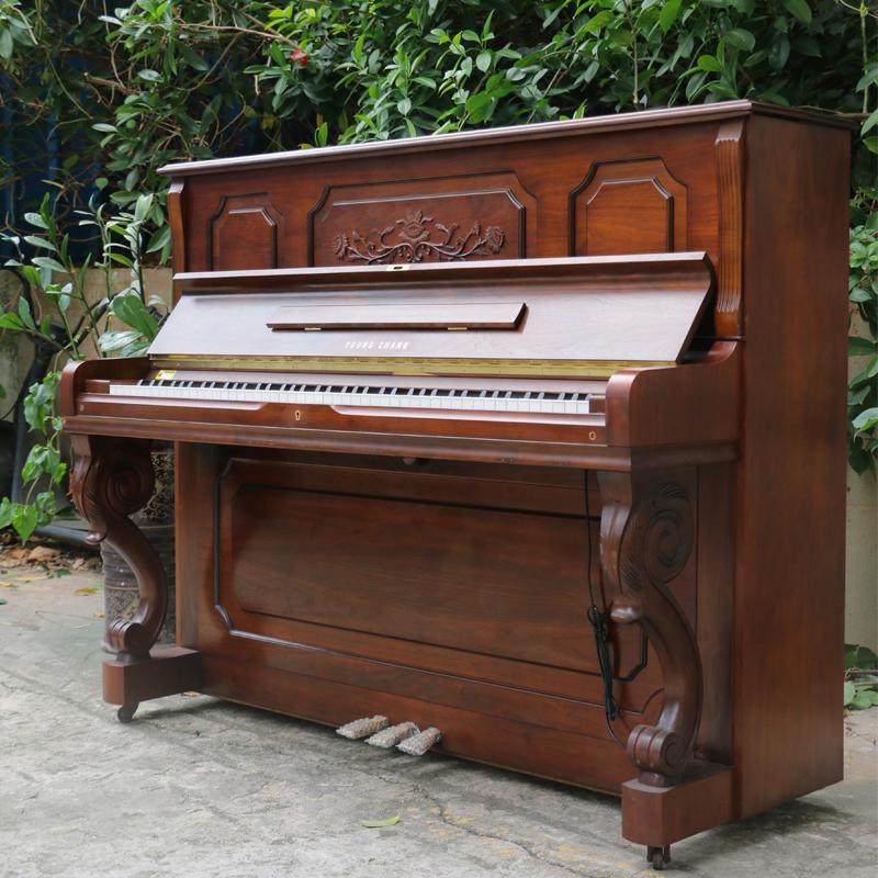 英昌U121FE钢琴韩国进口YOUNG CHANG二手成人家用考级立式深圳