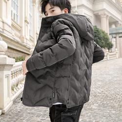 棉衣男士外套2020冬季新款潮牌加厚短款棉服韩版潮流羽绒冬装棉袄