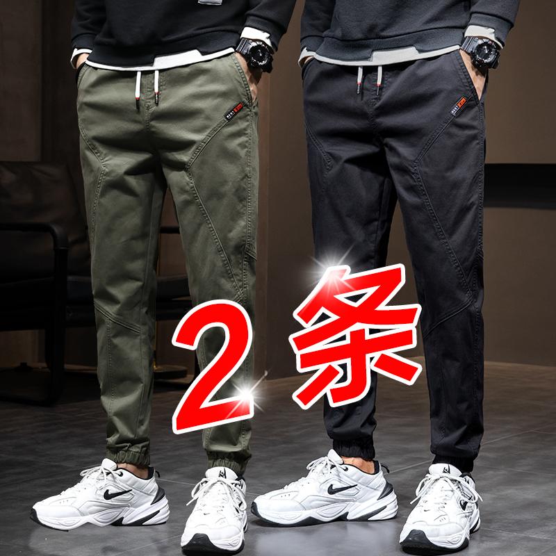春季纯棉工装裤子男士青少年休闲裤质量如何