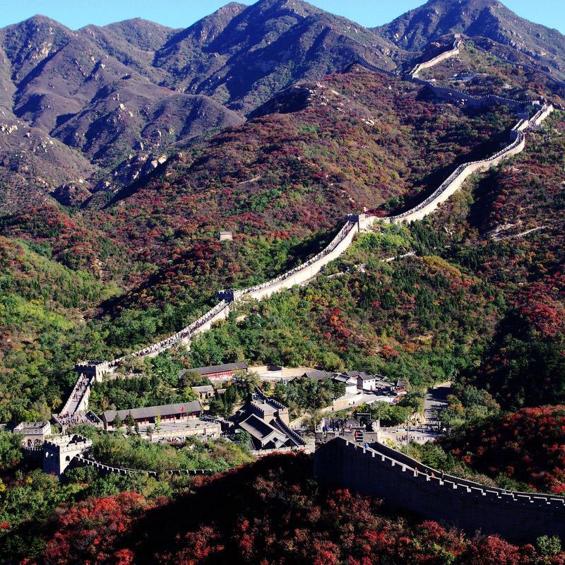天津出发北京一日游多线八达岭长城故宫颐和园动物园海洋馆坡峰岭