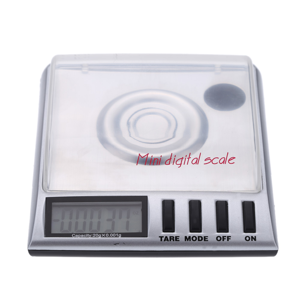 20g/0.001gDigital Electronic Scale Jewelry Weighing Tool wit