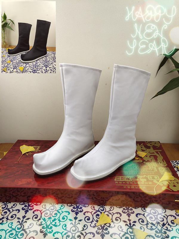 漢服の靴の中で高くなります。漢服の靴。古代靴。古風武侠演出靴。cos布靴。