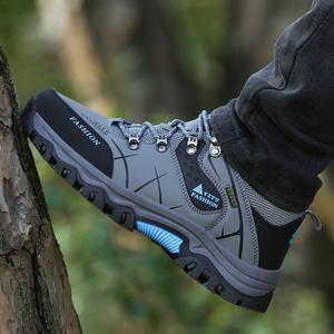 秋冬户外休闲登山鞋运动45徒步46特大码47防水防滑旅游鞋男士鞋子