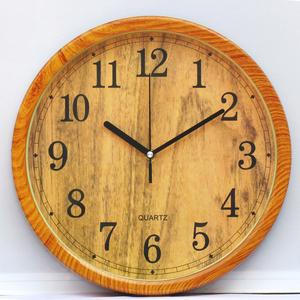 儿童房静音挂钟客厅卧室小学生静音钟表卡通圆形创意时钟石英钟表