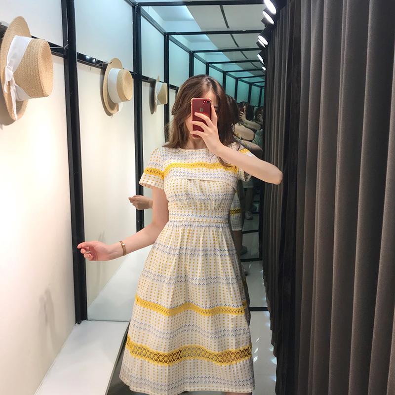 限4000张券【现货秒杀】很仙的法国小众桔梗裙子