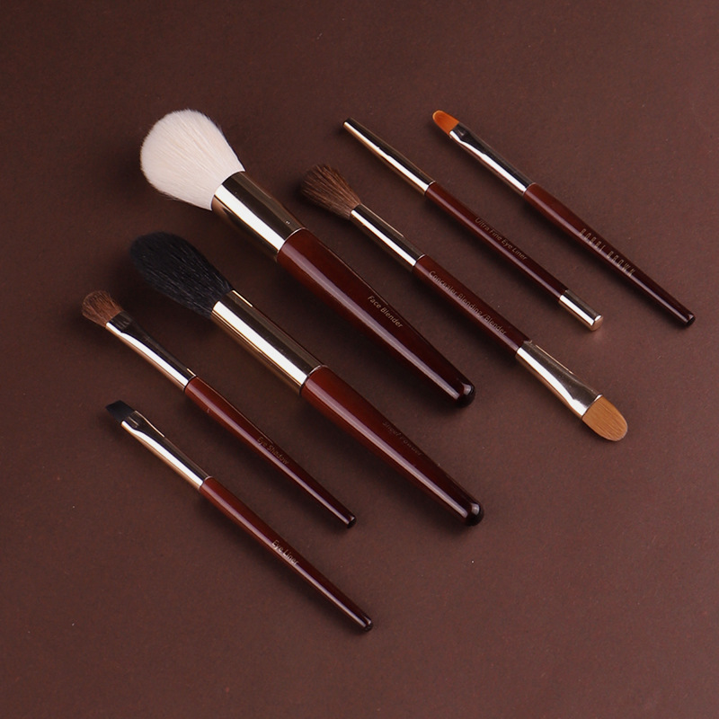 New Cangzhou makeup makeup beauty brush Bobbi home 7 sets of brushing Blush Powder, high gloss eye shadow eyebrow brush Eyeliner Brush