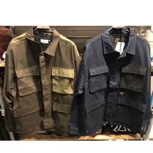 卡哈特四袋工装衬衫 19AW秋冬金标夹克外套军事风 男女两袋军事风