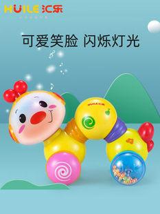 匯樂997爬行小蟲嬰幼兒學步親子互動嬰幼兒益智早教音樂爬行玩具